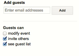 add guests